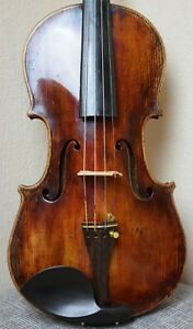 A very fine old violin most likely by Petrus Joannes Mantegatia 1788 fiddle