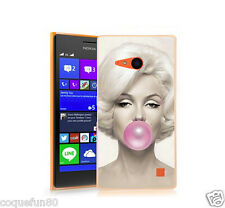 Coque Nokia Lumia 735 - Motif Marilyn Monroe Bubble  - Depart de France