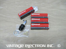 (4) NEW MOTORCRAFT Spark Plugs: Ford Model A AA B BB 4 Cylinder, 1928 - 1934