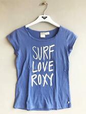Roxy Girls SURF LOVE TEE Children Casual T-Shirt Top Purple - Girls Size 10