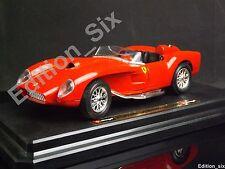 Burago 1:24 1957 Ferrari 250 Testarossa clásica italiana de coche deportivo