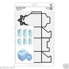 Xcut 1 PEZZI a4 DIE fai una 8cm Alto Natale Fiocco Di Neve Top Box utilizzare Xpress ecc.