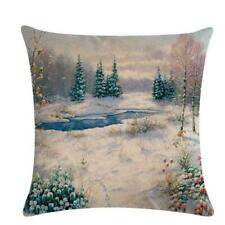 Neck Guard Pillow Cover Pillowcase Beautiful Without Core Landscape Printing HD