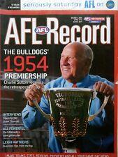 2004 AFL Football Record St Kilda Vs Richmond  April 8-12