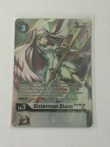 Digimon TCG  BT6-082  SISTERMON BLANC   RARE  - ALTERNATIVE  ART