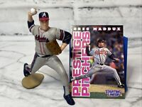 Starting Lineup Greg Maddux Atlanta Braves Loose Figure & Card 1996 SLU
