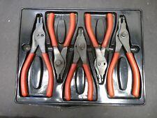 Snap On Snap Ring Plier Set Tray