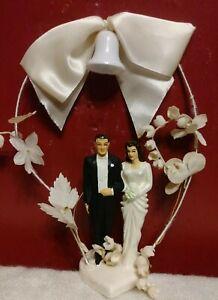 Vintage 1949 Coast Novelty Venice California Wedding Cake Topper