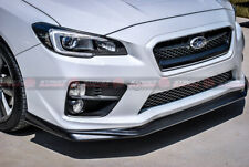 VRS Style PU Front Bumper Lip For 2015-2020 Subaru WRX/STI V1 (PRIMER FINISH)