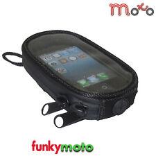 Soporte para teléfono de la Motocicleta Magnético Tanque Bolsa Bolsa S7 Iphone 7 Extra Grande waterprof