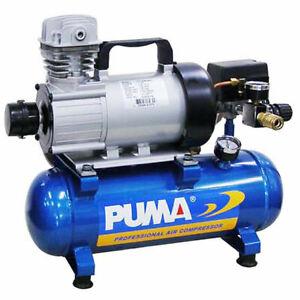 Puma 3/4-HP 1.5-Gallon 12-Volt Continuous Duty DC Air Compressor