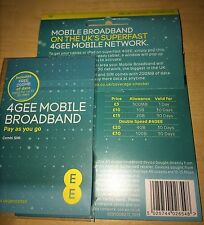EE 4G SIM + 200MB + £30 Credit to buy 10GB Internet. iPads/Tablets/Dongles/Mi-Fi
