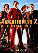 Anchorman 2: The Legend Continues (DVD, 2014) Free Shipping!