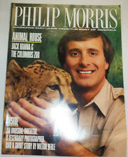 Philip Morris Magazine Animal House Jack Hanna May/June 1989 010215R