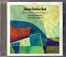 J.C. Bach 6 forte piano Concerto op.7 Anthony Halstead CPO CD Johann Christian
