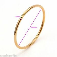 18K Yellow Gold Filled Solid Golf Bangle (BG-196)