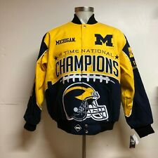 University of Michigan Wolverines 11-Time Football Championship Jacket