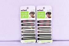 LOT OF 3 All Day Hold Barrettes, Assorted Colors, 6 Count ( 18 TOTAL)
