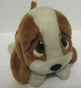 "Applause Sad Sam  Plush Basset Hound Puppy Dog 9"""