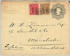 64816 - CHILE - POSTAL HISTORY: POSTAL STATIONERY COVER 10 Cent  COLUMBUS 1909