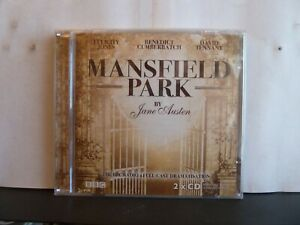 MANSFIELD PARK - JANE AUSTIN 2 x CD AUDIO BOOK New & sealed BBC dramatisation