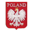 WW2 Polish White Eagle 2.5inch Patch Of Poland Military Forces