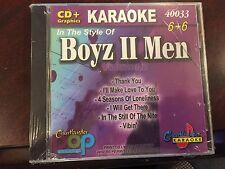 CHARTBUSTER 6+6 KARAOKE DISC 40033 BOYZ II MEN VOL 2 CD+G POP MULTIPLEX SEALED