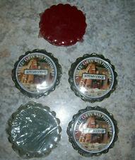 Lot of 5 Yankee Candle Melting Wax Tarts Potpourri Autumn Lodge