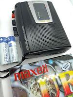 Sony TCM-453V Pressman Voice Recorder Standard Cassette Dictaphone Dictation VOR