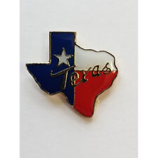 Texas Flag State Shaped Lapel Hat Pin Tie Tac Fast Usa Shipping
