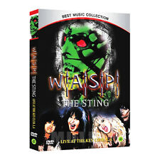 THE STING - W.A.S.P (Live at The Key Club. L.A) DVD