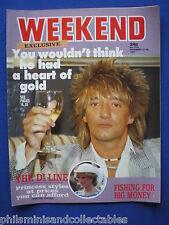 Weekend Magazine - Rod Stewart, Linda Baron, Suzanne Danielle  14th  Dec 1983