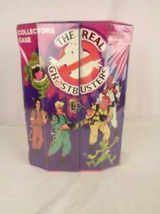 1984 The Real Ghostbusters Collectors Case - for 12 Figures - w/ One Insert