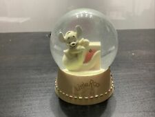 More details for disney little roo snow globe collectable large glitter globe pooh kanga
