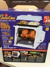 NEW Ronco Showtime Rotisserie & BBQ Oven