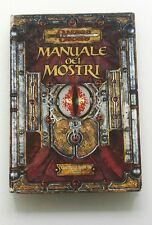 ⚝ ACCETTABILE ITA ⚝ MANUALE DEI MOSTRI 3 III ⚝ 3.5 D&D DUNGEONS AND & DRAGONS ⚝