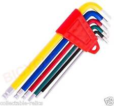 Allen Hex Keys Set Bicycle Spanners 2 2.5 3 4 5 6mm Ball Head Wrench Tools 740