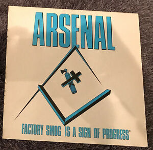 Arsenal - Factory Smoke is a sign of Progress (Touch 'n Go 1990)