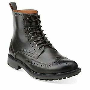 Clarks Montacute Lord Men's Lace-up leather boots(Without Box)