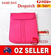 15 15.4 15.6 inch Pink Laptop NetBook Sleeve Case Pouch COVER Macbook Pro Air