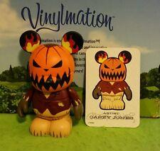 "DISNEY Vinylmation 3"" Park Set 1 Nightmare Before Christmas Pumpkin King w/ Card"