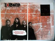 COUPURE DE PRESSE-CLIPPING :  LAIBACH [2pages] 02-03/2007 Yvan,Volk