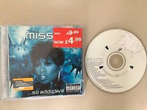 Miss E So Addictive Missy Elliot CD Album 17 Tracks inc Basement Jaxx  Remix
