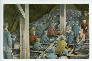Slate Pickers Breaker Boys at American Coal Mine 1905-14 Souvenir Post Card Co.