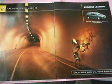 Publicté Advertising 2001  Renault Scénic 2 pages