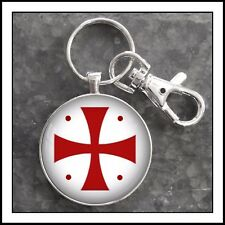 Knights Templar Cross photo keychain Oak Island inspired gift 🎁❤️