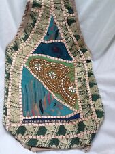 New - Embroidered & Hand Beaded Handbag / Hobo Bag