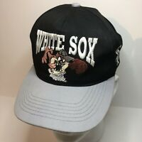 MLB Chicago White Sox Hat Cap Looney Tunes Snapback Black Youth Taz Vintage 1994