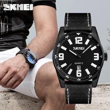 SKMEI Sport Watches Mens Large Dial Waterproof Watch Quartz Calendar Wristwatch