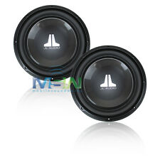 "(2) *NEW* JL AUDIO 12W1v3-2 12"" W1v3 2-Ohm SVC CAR SUBWOOFERS SUB 12W1 v3 *PAIR*"